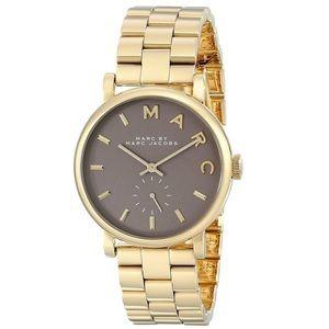 Marc by Marc Jacobs Women's Baker Gold Steel Watch